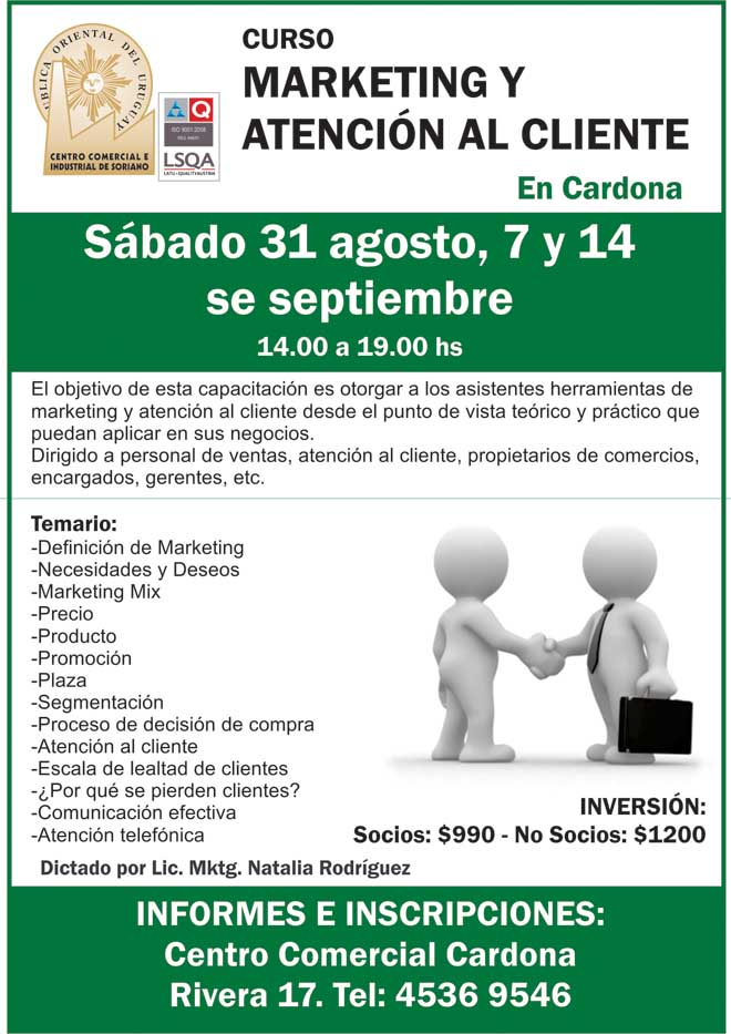 capacitación marketing cardona